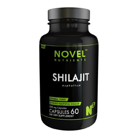 Novel Nutrients Shilajit (500 mg),  60 capsules