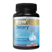 WOW Body Cleanse Plus,  60 veggie capsule(s)  Unflavoured