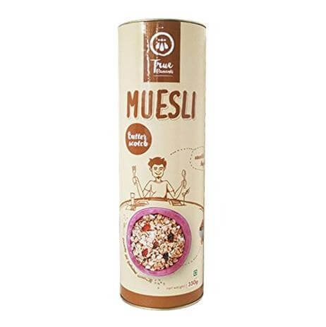 True Elements Butterscotch Muesli,  Unflavoured  400 g
