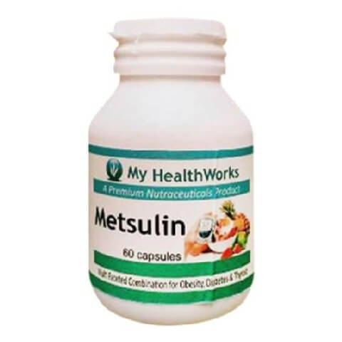 My Healthworks Metsulin,  60 capsules  Unflavoured