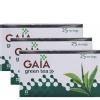 GAIA Green Tea,  25 Piece(s)/Pack  Jasmine  - Pack of 3