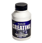 HealthAid Creatine Monohydrate (1000 mg),  Unflavoured  60 tablet(s)