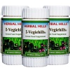 Herbal Hills I Vegiehills,  60 caplets  - Pack of 3