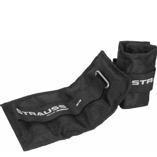 Strauss Ankle Weight (Pair),  Black  0.5 kg