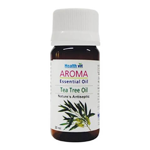 Healthvit Aroma Tea Tree Essential Oil,  30 ml  for All Skin Types