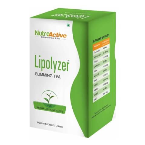 NutroActive Lipolyzer Slimming Tea,  100 g  Natural