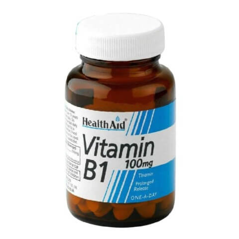 HealthAid Vitamin B1,  Unflavoured  90 tablet(s)