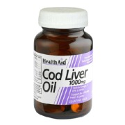 HealthAid Cod Liver Oil (1000 mg),  60 capsules