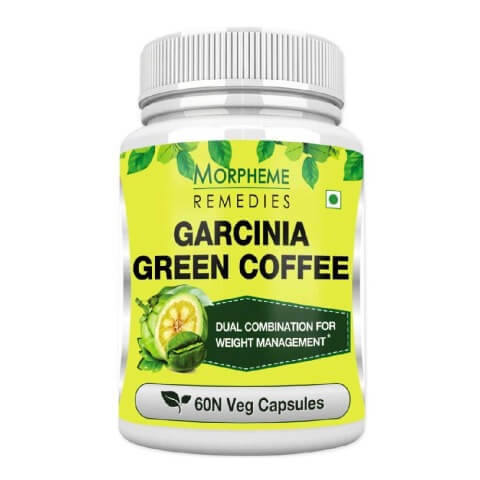 Morpheme Remedies Garcinia Green Coffee (500mg),  60 capsules  Unflavour
