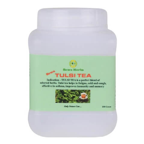 Sewa Herbs Tulsi Tea,  Natural  100 g