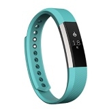 Fitbit Alta Fitness Tracker,  Large (Silver/Teal)