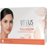 Lotus Herbals Natural Glow,  1 Piece(s)/Pack  Skin Radiance 4 Facial Kit
