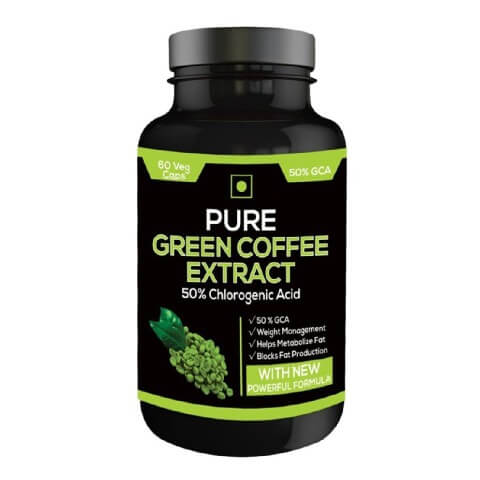 Perennial Lifesciences Pure Green Coffee Extract,  60 capsules