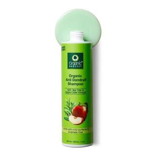 1 - Organic Harvest Organic Anti Dandruff Shampoo,  250 ml  for All Types of Hair