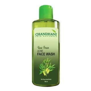 Chandhani Tea Tree Acne Facewash,  100 ml