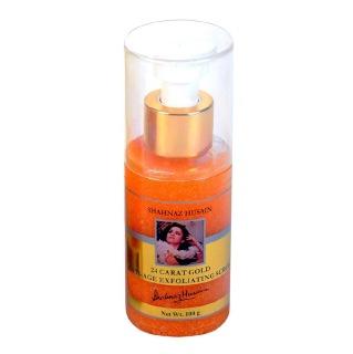 Shahnaz Husain 24 Carat Gold Scrub,  100 g  Anti Ageing