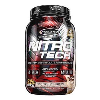 1 - MuscleTech NitroTech Performance Series,  2.2 lb  Cookies and Cream