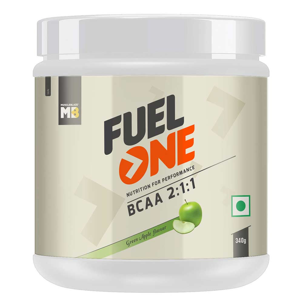 2 - MB Fuel One BCAA 2:1:1,  0.75 lb  50 Servings  Green Apple