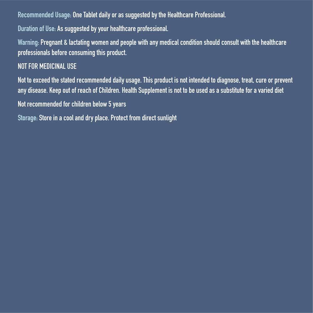 1 - TrueBasics CALCIEDGE Blister Pack,  10 tablet(s)  Unflavoured