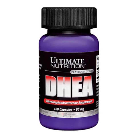 Ultimate Nutrition DHEA (100 mg),  100 capsules