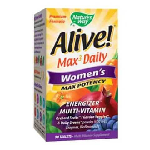 Nature's Way Alive! Women's Max Potency,  Unflavoured  90 tablet(s)