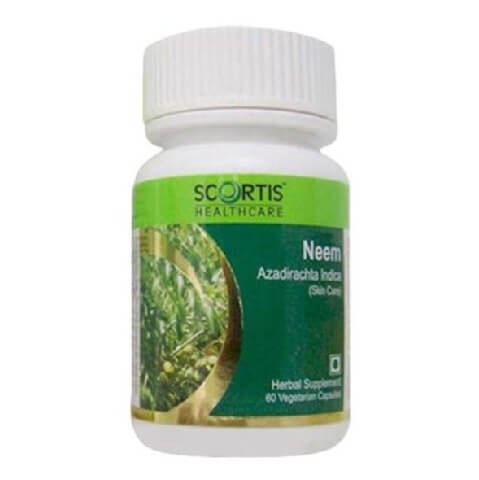 Scortis Neem,  60 veggie capsule(s)