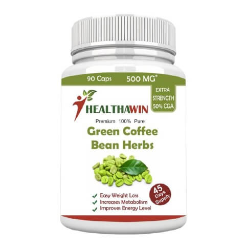 Healthawin Green Coffee Bean Herbs,  90 capsules