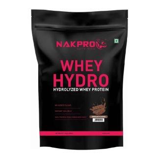 1 - Nakpro Whey Hydro Hydrolyzed Whey Protein,  2.2 lb  Chocolate