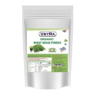 Vetra Organic Wheat Grass Powder,  100 g
