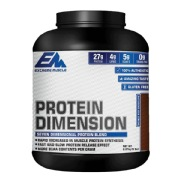 Extreme Muscle Protein Dimension,  5 lb  Double Rich Chocolate