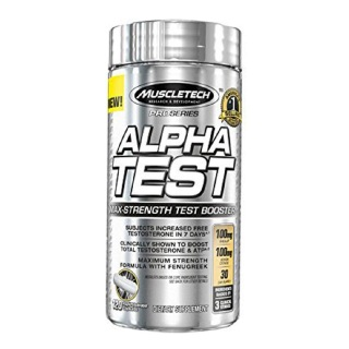 MuscleTech Pro Series Alpha Test,  120 capsules  Unflavoured