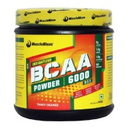 MuscleBlaze BCAA 6000,  0.88 lb  Tangy Orange (50 Servings)