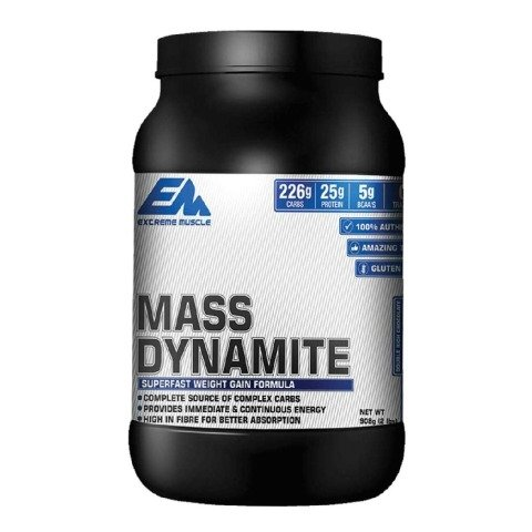 Extreme Muscle Mass Dynamite,  Double Rich Chocolate  2 lb