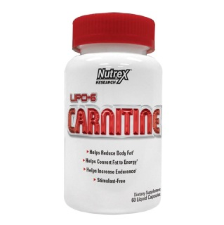 Nutrex Lipo-6 Carnitine,  60 capsules  Unflavoured