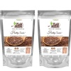 NutroActive Flax Seeds Pure Dry Roasted - Pack of 2 200 g