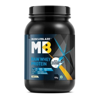 1 - MuscleBlaze Raw Whey Protein with Testosterone Boosters,  2 lb  Unflavoured
