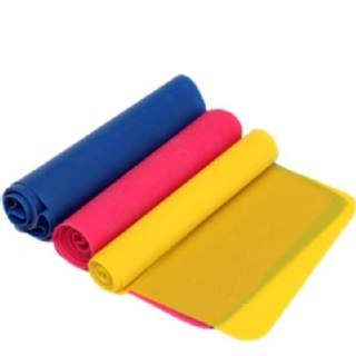 B Fit USA Stretch Band (AB3202) Set of 3,  Blue,Pink & Yellow  Free Size