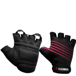 KOBO Weightlifting Gym Gloves (CG-02),  Black  XL