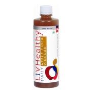 Liv Healthy Apple Cider Vinegar,  0.5 L  Unflavoured