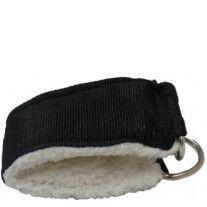 B Fit USA Ankle Strap Soft (AS-1),  Black & White  Free Size