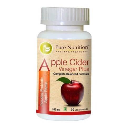Pure Nutrition Apple Cider Vinegar Plus,  90 veggie capsule(s)  Unflavoured