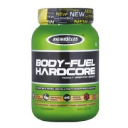 Big Muscles Body Fuel Hardcore,  2.2 lb  Strawberry