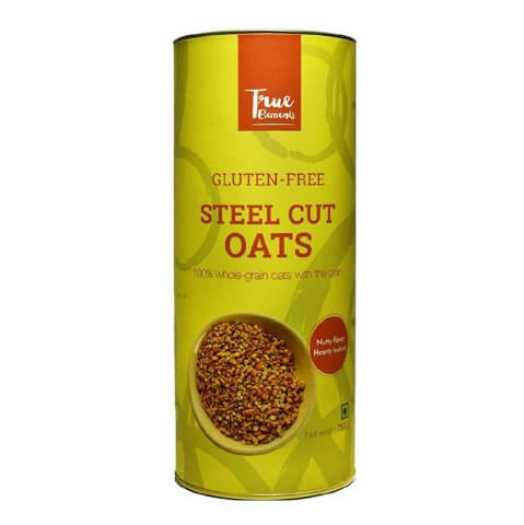 True Elements Gluten Free Steel Cut Oats,  Unflavoured  0.750 kg