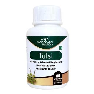 Mahaved Tulsi Extract,  60 capsules