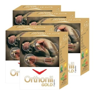 Mahaved Orthonil Gold Oil - Pack of 5 Unflavoured 30 ml