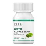INLIFE Green Coffee Bean Extract (500 mg),  60 veggie capsule(s)