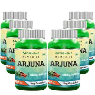 Morpheme Remedies Arjuna (500mg),  6 Piece(s)/Pack