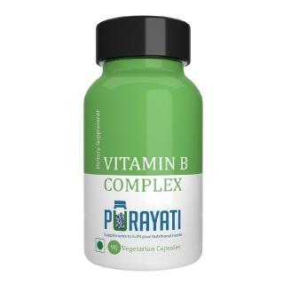 Purayati Vitamin B Complex,  Unflavoured  90 veggie capsule(s)