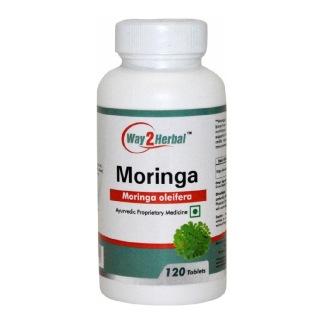 Way2Herbal Moringa,  120 tablet(s)