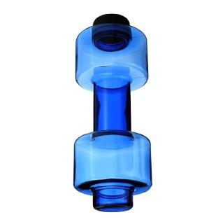 DYEG Dumbbell Shaker Bottle,  Blue  550 ml